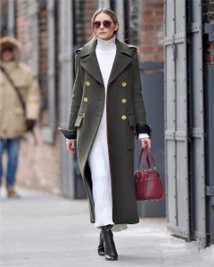 Olivia Palermo with Longchamp Paris Premier