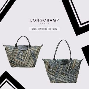 Longchamp Op'Art Top-Handle M handbags black friday 2017 sale