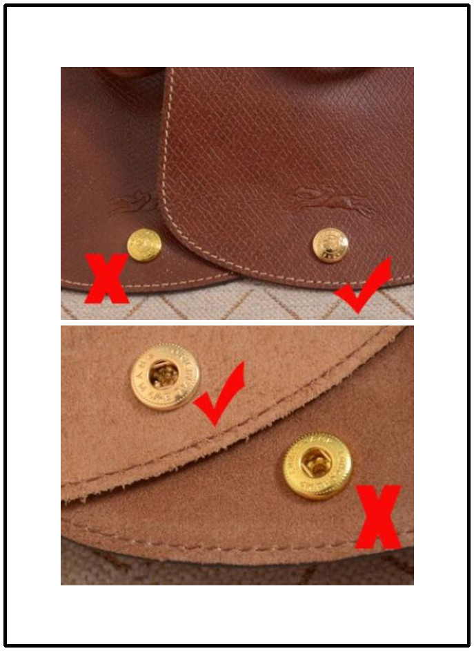 How to identify the authenticity of Longchamp bags