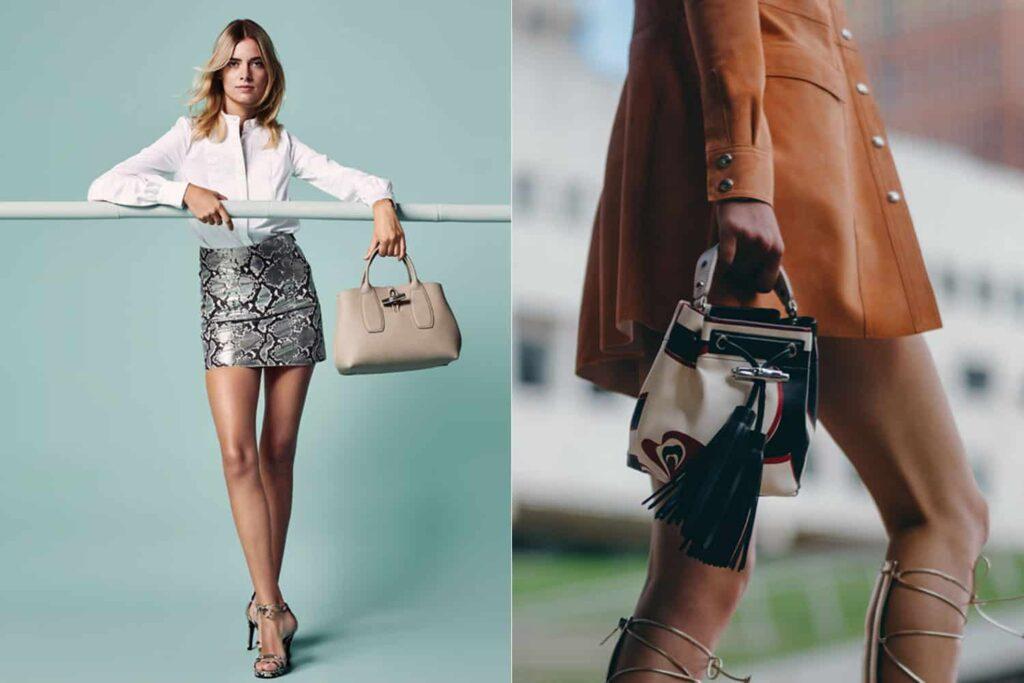 Cheap Longchamp Roseau Bags